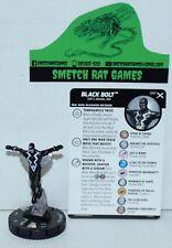 Marvel Heroclix Earth X Rare Figure EAX 047 Black Bolt