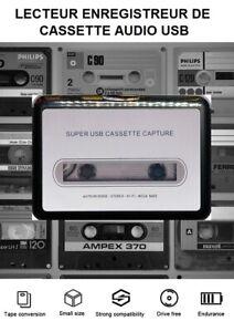 Baladeur Walkman Lecteur Enregistreur Cassette USB Portable Convertisseur MP3