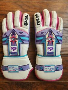 In Great preowned Condition 80's Vintage Reusch Swiss Ski Pool Gloves Sz 8 1/2