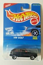 Hot Wheels 1996 Collector # 474  VW GOLF    Black