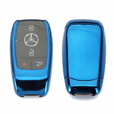 TPU blue key case full sealed protection FOB for MERCEDES BENZ W213 E-CLASS E300