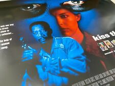 Kiss The Girls (1997) Ashley Judd Morgan Freeman Original UK Quad Film Poster