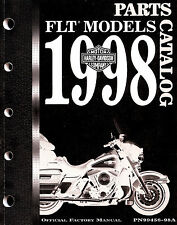 1998 HARLEY-DAVIDSON FLT MODELS PARTS CATALOG MANUAL -FLTR-FLHT-FLHR-FLHTCUI