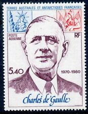 TIMBRE DES T.A.A.F. TERRES AUSTRALES / P.A. N° 61 GENERAL DE GAULLE COTE 16 €