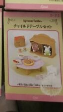 Sylvanian Family House Toy Cupboard Table Rabbit Book Coffee Biscuit  ~ Rare