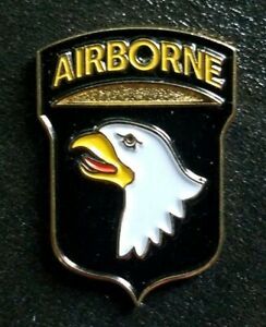 "101st Airborne Division Pin Badge. ""Screaming Eagles"". U S Army Lapel Or Hat Pin"