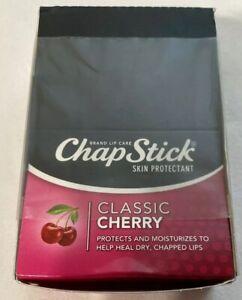 12 Pack ChapStick Classic Cherry 0.15 oz/each x