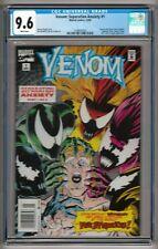 Venom: Separation Anxiety #1 (1994) CGC 9.6  White Pages  Mackie - De La Rosa