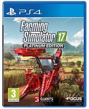 Egp219732 Focus Farming Simulator 2017 Platinum Edition per Ps4 Versione Italian