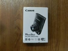 BRAND NEW Canon PowerShot ELPH 360 Digital Camera w/ 12x Optical Zoom Silver