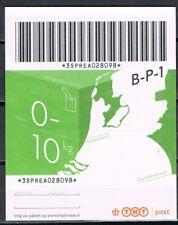 Pakketzegel 0-10  kg, emissie TNT-logo  aangetekend pakket *LASTIG MATERIAAL