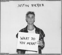 JUSTIN BIEBER / WHAT DO YOU MEAN ? * NEW SINGLE-CD * NEU *