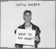 JUSTIN BIEBER/What Do You Mean? * NEW SINGLE-CD * NOUVEAU *