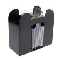 Playing Shuffling Machine Automatic Card Shuffler 6-Deck Card Shuffler Black