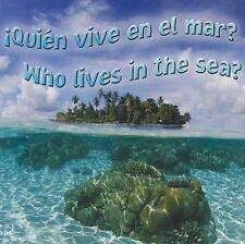 Quien Vive En El Mar?/Who Lives in the Sea? (Rourke Board Books) (Spanish