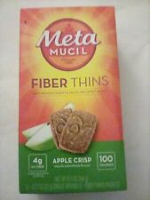 METAMUCIL fibra assottiglia supplemento Psyllium Lolla Apple Crisp, EXP. 2021-LOTTO 10