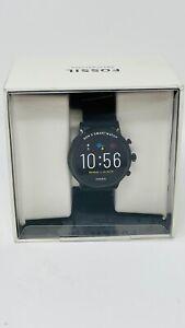 Fossil Gen 5 44mm HR, GPS, Speaker Carlyle Stainless Steel Smartwatch - FTW4025
