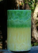 200hr BERGAMOT & PATCHOULI Citrus Scented Natural ECO CANDLE with Cotton Wicks