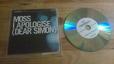 CD Pop Moss - I Apologise / Dear Simon (1 Song) Promo EXCELSIOR