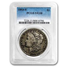 1893-S Morgan Dollar VG-10 PCGS