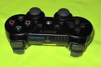 ORIGINAL SONY PLAYSTATION 3 WIRELESS DUALSHOCK 3 CONTROLLER in SCHWARZ - PS3