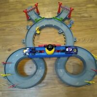 Disney Mickey Mouse Clubhouse Mickey Ears Raceway Toy Car Race Track Playset