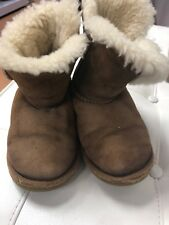 Ugg's Little Girl Short  Boots. Size 12. Used Condition.