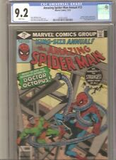 Amazing Spider-Man Annual #13 CGC 9.2 AND Spiderman 182 CGC 7.0