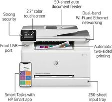 """HP M283FDW Color LaserJet Pro  All In One Printer/Scanner/Fax/Copier """"NO TONERS"""""""