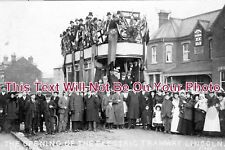 LI 416 - The Opening Of The Electric Tramway, Lincoln, Lincolnshire 1905 Photo