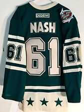Reebok Authentic NHL Jersey All-Star West Rick Nash Green All-Star West sz 46