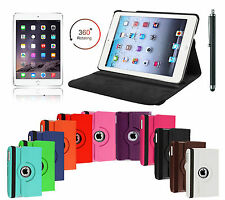 Rotating Smart Stand Case Cover For APPLE iPad 2/3/4, ipad air 1/2, Mini 123