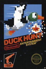 DUCK HUNT - CLASSIC GAME POSTER 24x36 - 1278
