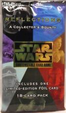 Star Wars CCG -  Limited BB Reflections  Booster Factory Sealed 1 pack