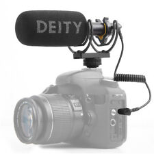 DEITY V-Mic D3 Broadcast Quality Shotgun Super-Cardioid Microphone Stepless Gain