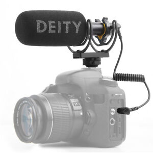 DEITY V-Mic D3 Broadcast Quality Shotgun Super-Cardioid Microphone Stepless Gain