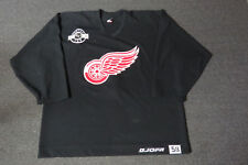 Used Black Detroit Red Wings CCM Center Ice Practice Hockey Jersey MeiGray 58
