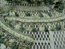 Tassel Fringe, Multi Green  3 inches/By the Yard