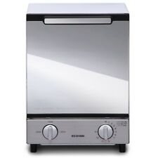 IRIS OHYAMA MOT-012 Mirror Oven Toaster Vertical Type 100V 1000W Silver