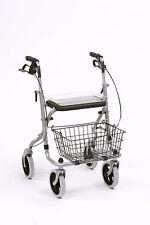 Clearance Migo Folding rollator walking frame seat brakes tray basket WA015SH