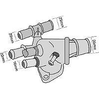 TRIDON Std Thermostat For Fiat Bravo (NZ Only) 01/07-01/08 1.9L 937A5