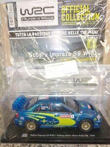 1:24 Subaru Impreza S9 WRC Solberg-Mills Wales Rally GB 2003 Fia World Rally
