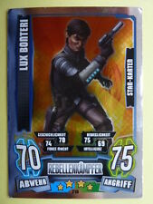 Force Attax Clone Wars Serie 4 (2013), Lux Bonteri (210), Star-Karten