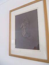 Isabella by Sam Pointer pastel on ingres paper framed