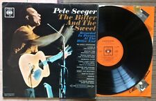 PETE SEEGER / THE BITTER AND THE SWEET - LP (printed in UK 1965) RARE !!!