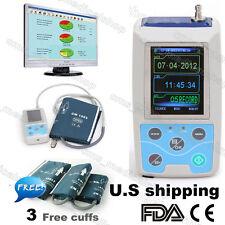 24h NIBP Holter Ambulatory Blood Pressure Monitor ABPM50,Software,CE FDA,USA