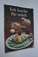 """DDR Kochheft Rezeptheft """"Ich koche für mich"""" Verlag für die Frau"""