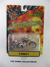 Jesse James West Coast Choppers El Diablo II 1:31 Die Cast  NIB