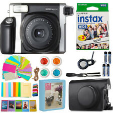Fujifilm INSTAX Wide 300 Fuji Instant Camera + 20 Film + Case Bundle + More