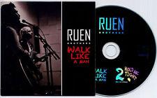 RUEN BROTHERS Walk Like A Man 2013 UK 2-trk promo CD + BBC live version